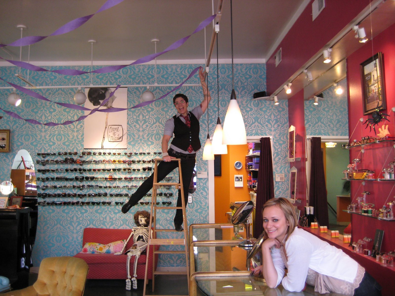 Decorating For A Party anniversary party! | eye spy optical