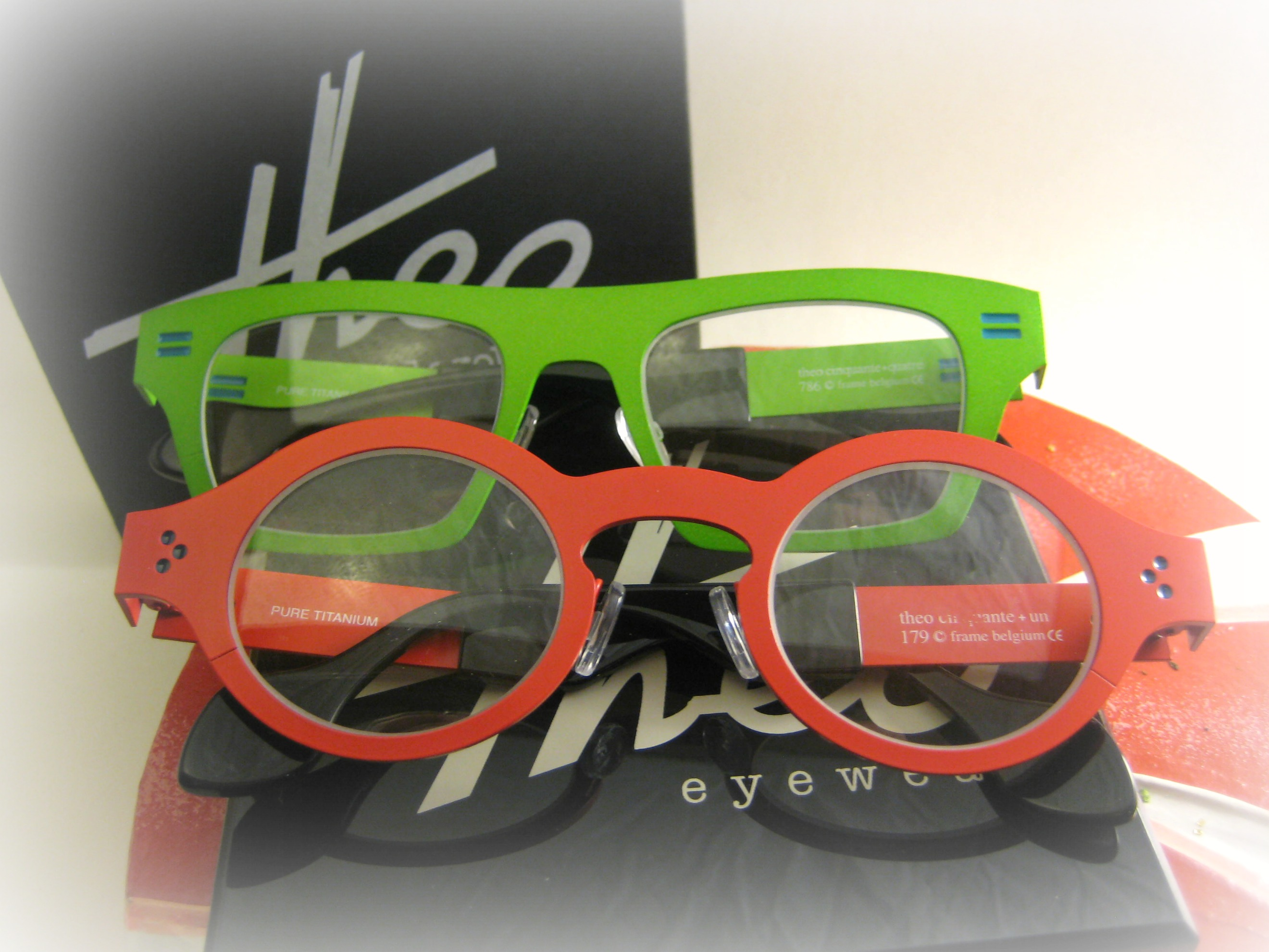 Just frames for glasses - Too