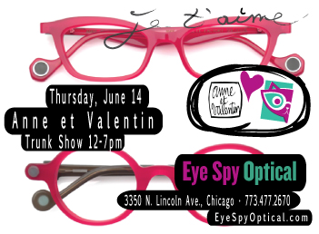 Anne et Valentin Trunk Show on June 15