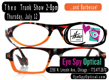 Theo Trunk Show and Barbecue on July 12th!
