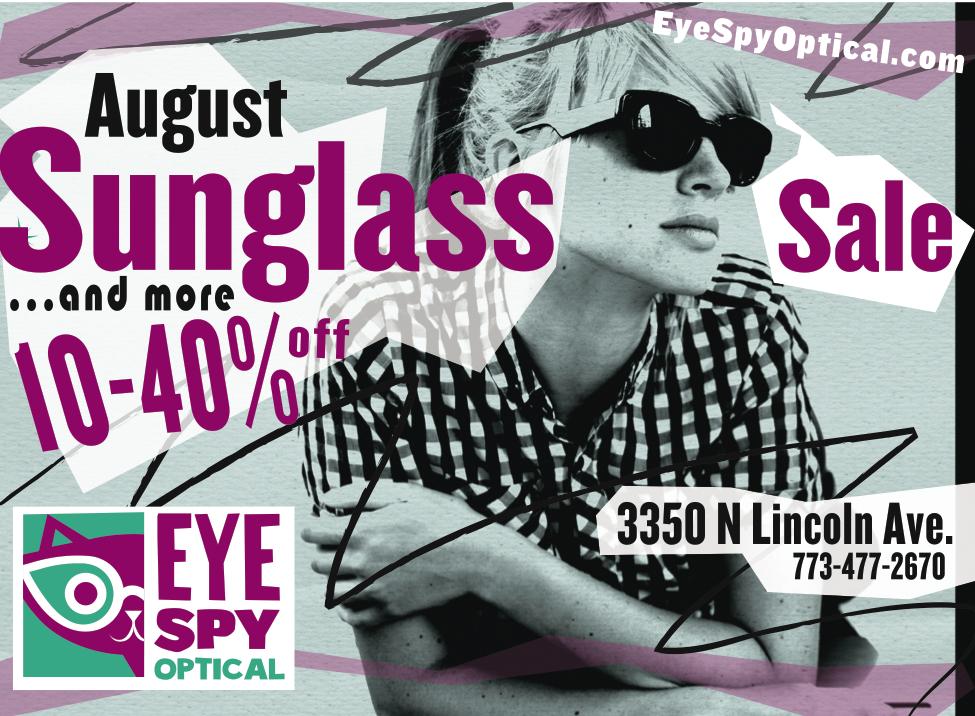 August Sunglass Sale!