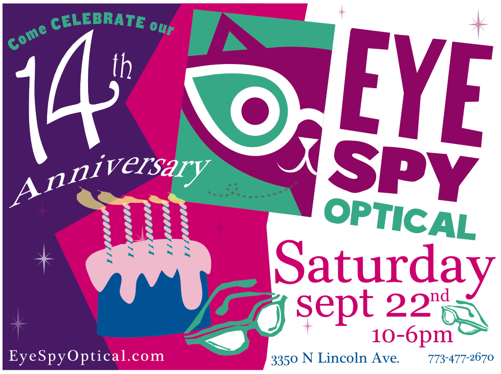 14th anniversary party on sept 22