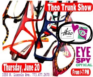 Theo Trunk show on June 20th