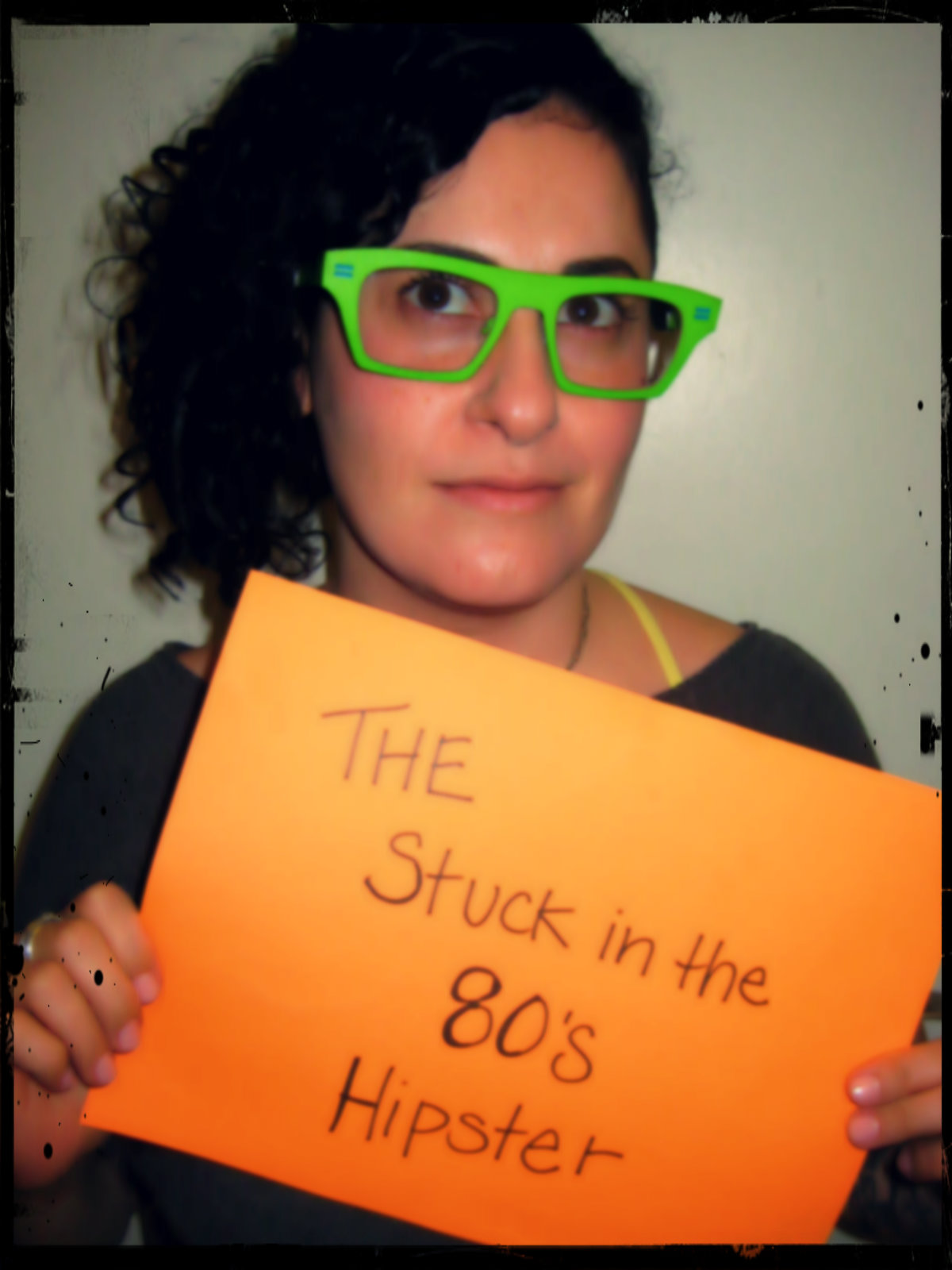 The Stuck In The 80's Hipster