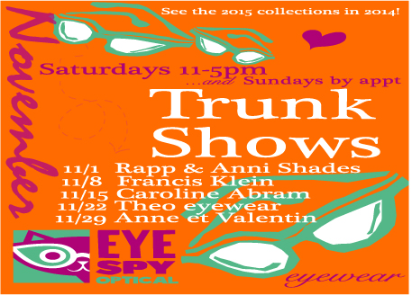 November Trunk Show