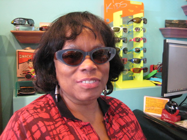 Charmaine's a smooth operator in her new Sunnies!