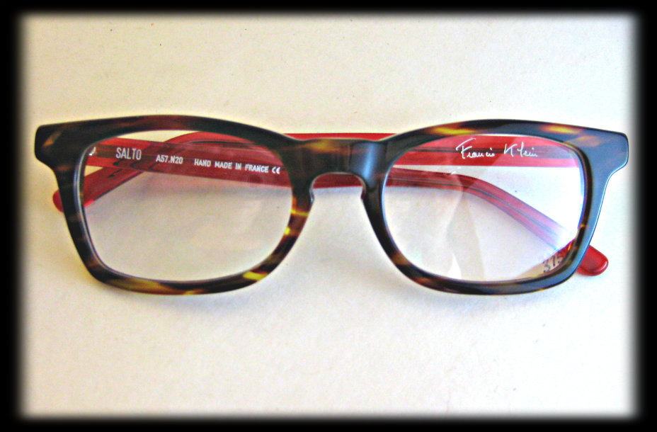 95b21b94c9 Francis Klein Salto. A sophisticated frame for a sophisticated guy.