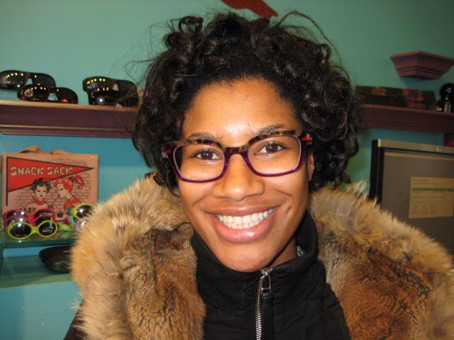 Dana is styling in her Anne Et Valentin frames!