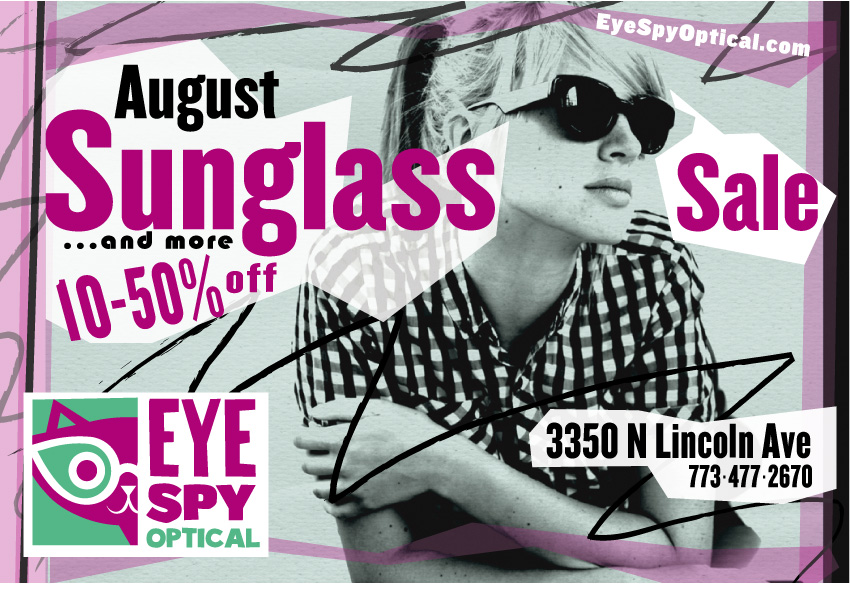 August Sunglass Sale