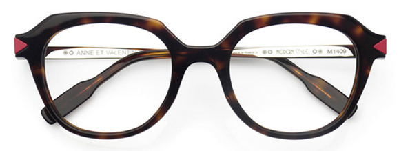 46ef0b022f We love how these slightly oversized Anne et Valentin Modern Style frames  look on her.