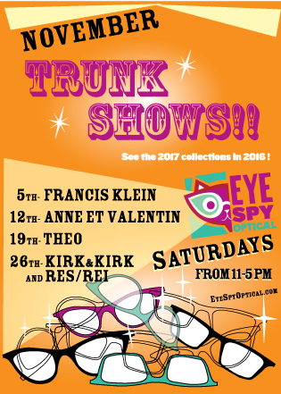 c6508cd5ca November Trunk Shows!!!