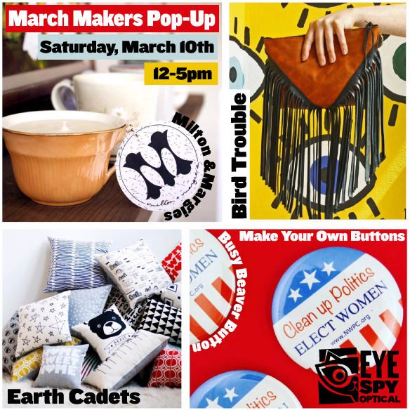 March Makers Pop-up!
