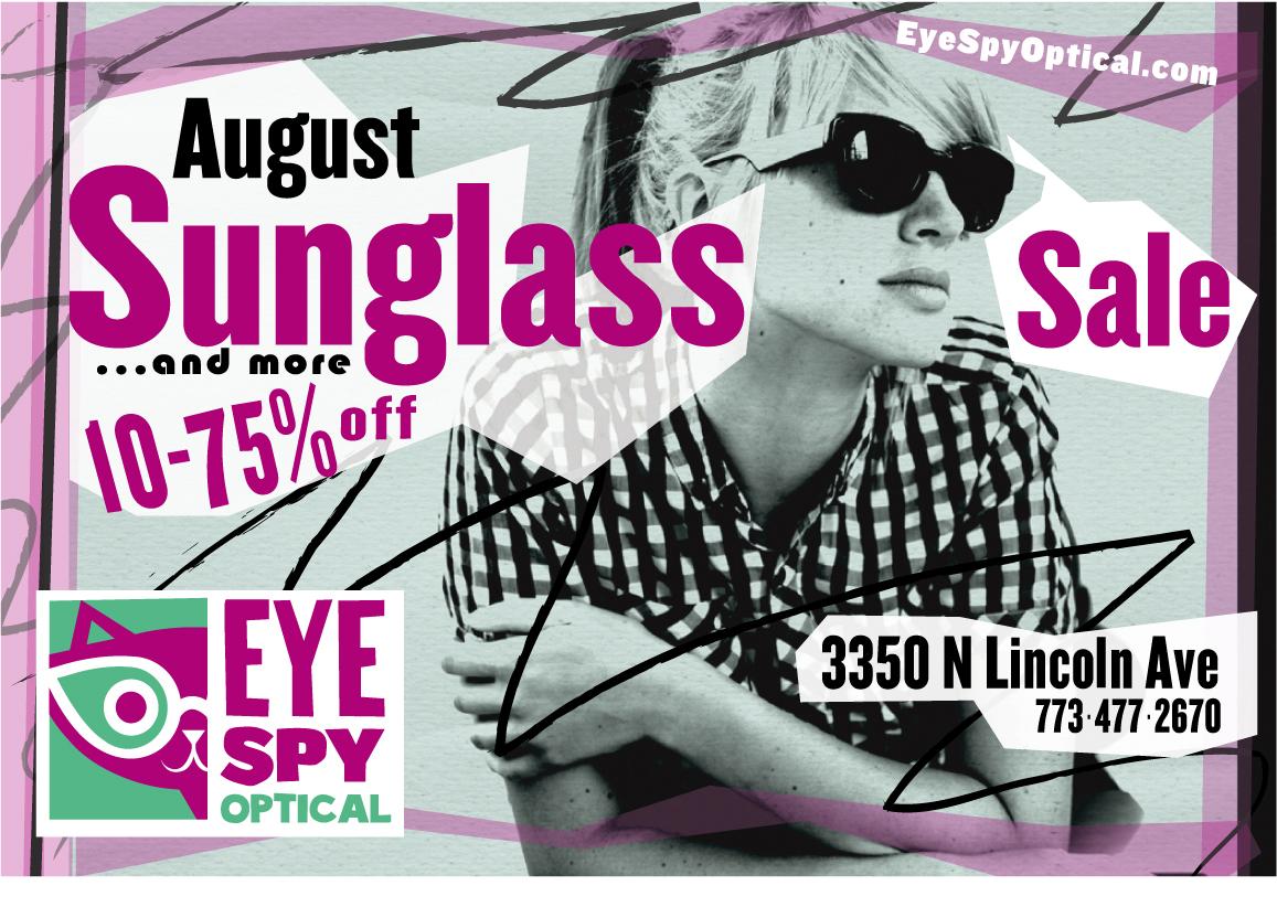 August Sunglasses (& more) Sale