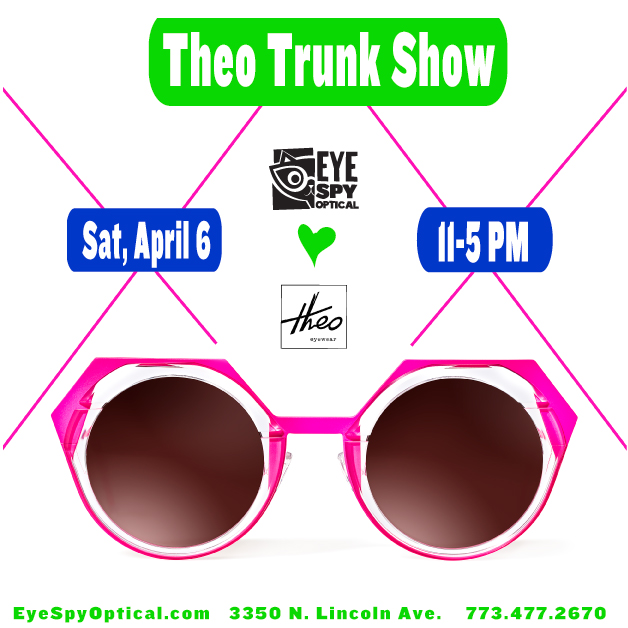 theo april 6th trunk show