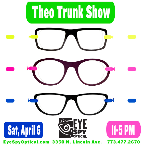 Theo Trunk Show April 6th
